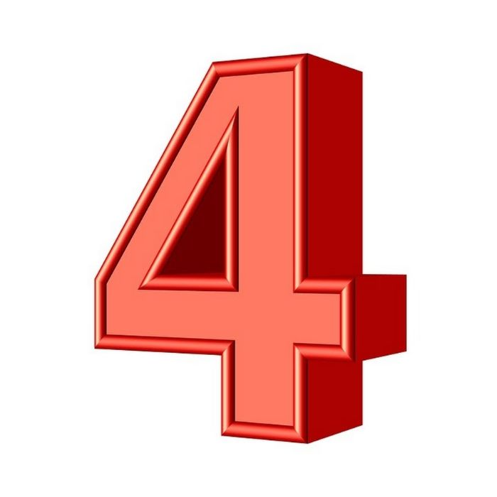 Số 4 theo âm Hán Việt là tứ gần giống với tử tức là cái chết, vì vậy mà con người cũng rất sợ số này