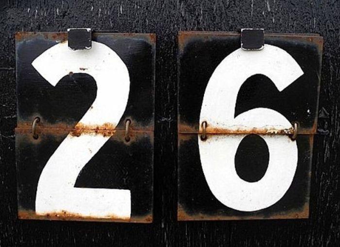 Ở Ấn ĐỘ số 26 là điềm báo của sự xui xẻo, thậm chí là cái chết