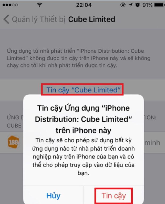 Tải phần mềm đánh lô đề 188bet trên hệ điều hành iOS
