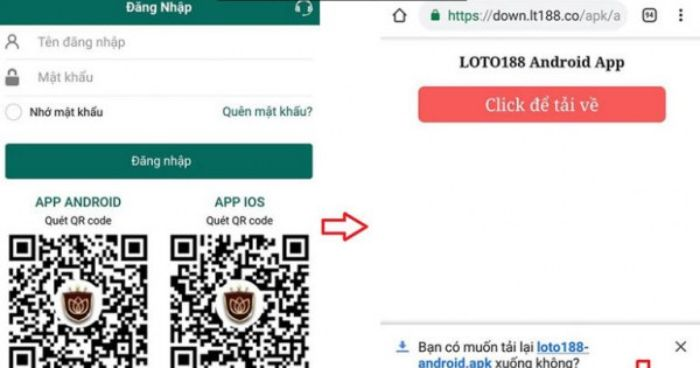 Hướng dẫn tải phần mềm đánh lô đề Loto188