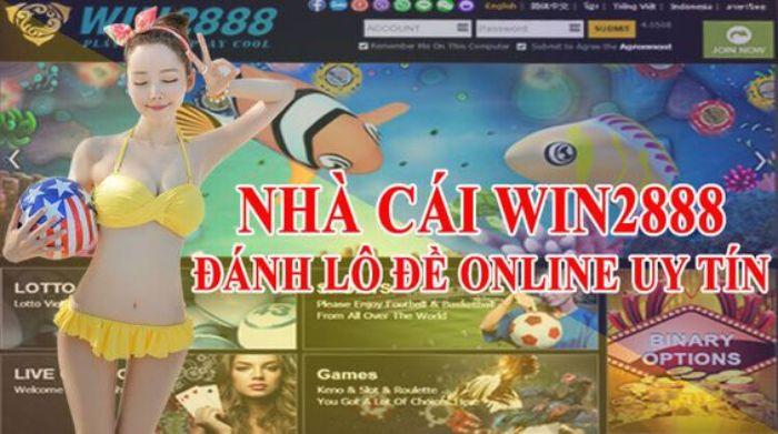Win 2888 là cái tên mà chắc chắn bất cứ một dân chơi casino trực tuyến hay lô đề online biết đến